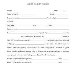 Debt-Agreement-Form